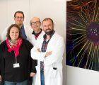 La imagen titulada 'Tesla ball', obtenida en el Hospital Nacional de Parapléjicos, ganadora del concurso 'NeuroArt 2018'
