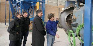 La nueva fábrica de biomasa de Cuenca llega a su recta final