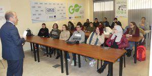 Los alumnos del IES Pedro Mercedes conocen el funcionamiento de CEOE-Cepyme Cuenca