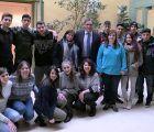 Mariscal anima a los alumnos del proyecto Cuenca Plus III y IV a aprovechar la formación recibida en países de la UE