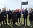 Mariscal inaugura el jardín dedicado a Vicente Marín a petición de la Hermandad de la Negación de San Pedro