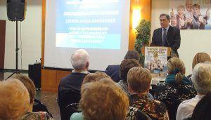 Mariscal presenta el programa integral de actividades para personas mayores 'Tiempo para emprender'