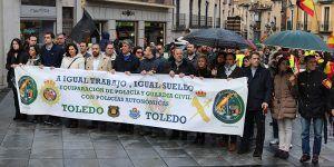 """Orlena de Miguel asegura que """"Cs no apoyará los Presupuestos Generales hasta que no veamos los 500 millones de euros para lograr la equiparación salarial de las FCSE"""""""