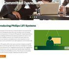 Philips Lighting presenta LiFi datos de banda ancha a través de la luz