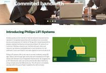Philips Lighting presenta LiFi datos de banda ancha a través de la luz