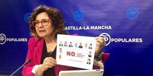 Riolobos acusa a Page y al PSOE de ser responsables de hacer un daño irreparable a las 68.038 viudas y a miles de pensionistas de la región