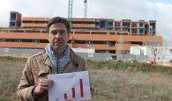 """Robisco demuestra que Page """"vuelve a engañar a Guadalajara con las obras del Hospital"""""""