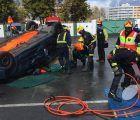 Seis bomberos de Cuenca participan en el I Encuentro Formativo de Rescates en Accidentes de Tráfico en Córdoba