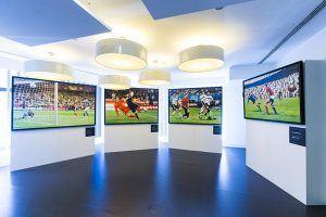 Telefónica Flagship Store acoge las principales copas ganadas por la Selección