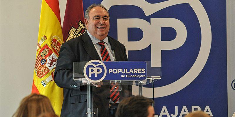 """Tirado """"El único peligro para las pensiones sería un Gobierno de PSOE y Podemos, como el de Page, en España"""""""