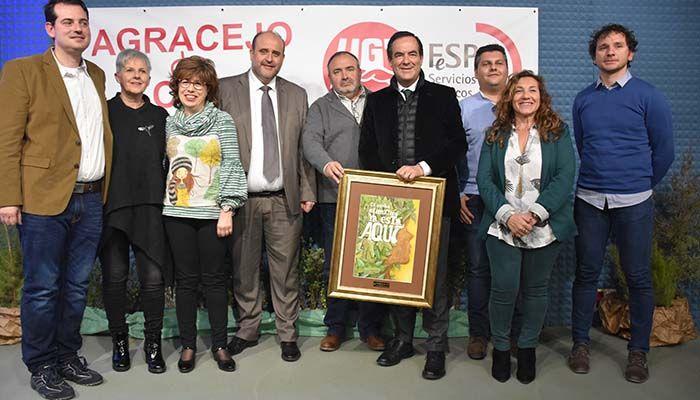 UGT Cuenca entrega su III Premio 'Agracejo de Oro' a José Bono