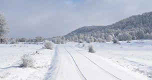 Un total de 187 alumnos de Cuenca sin clase este martes a causa de la nieve y el hielo