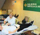 xito del 10º Maratón de Donación de Sangre en Caja Rural Castilla-La Mancha