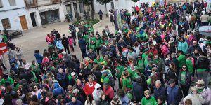 Yunquera de Henares acoge la V Marcha de la Mujer a favor de la lucha contra el cáncer