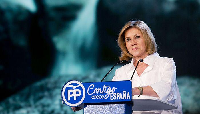 Cospedal destaca que el reto de futuro del PP-CLM es volver a gobernar en la región para que se cree empleo