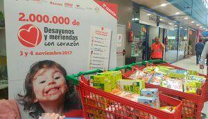 Cruz Roja Cuenca pone en marcha la sexta campaña Desayunos y Meridads #ConCorazon