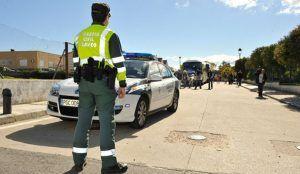 Cuatro heridos, entre ellos dos niños, en un choque frontal en Guadalajara