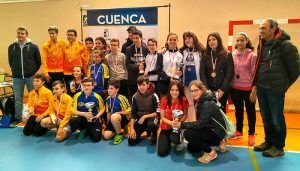 Cuenca ya tiene a sus representantes para el Campeonato Regional de Tenis de Mesa en Edad Escolar