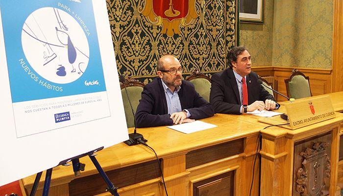 El Ayuntamiento de Cuenca llama a la colaboración ciudadana para mantener una ciudad más limpia