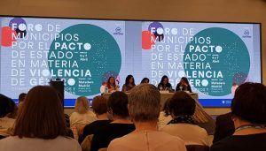 El Ayuntamiento de Villanueva de la Torre acudió al foro en Madrid contra la Violencia Machista en Madrid