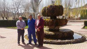 El delegado de la Junta en la comarca de Molina conoce las mejoras llevadas a cabo en Villel de Mesa gracias al Plan de Empleo