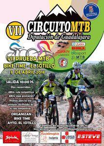 El domingo 8, VII Bike Time-El Sotillo, primera prueba del Circuito MTB Diputación de Guadalajara