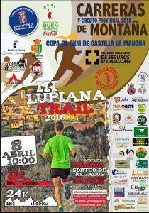 El domingo se celebra el III Trail de Lupiana,  segunda prueba del Circuito Montaña Diputación de Guadalajara