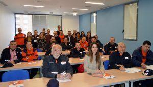 El Gobierno regional forma a una veintena de voluntarios de Protección Civil de la provincia de Cuenca en prevención de la violencia de género