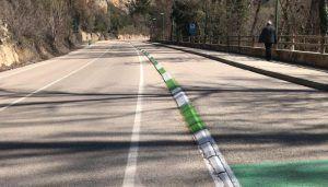 El Gobierno regional invierte 8.000 euros en el repintado del carril bici de la CM-20105