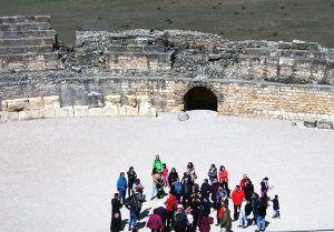 El Parque Arqueológico de Segóbriga recibe un total de 3.272 visitantes durante esta Semana Santa