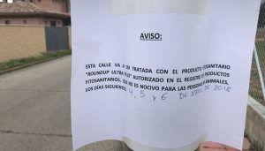 El PP de Cabanillas denuncia que el Ayuntamiento volverá a utilizar glifosato en las calles, incumpliendo así una de sus promesas electorales