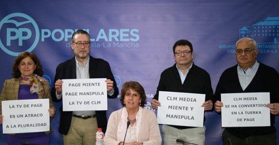 El PP pide la dimisión de Carmen Amores en el Consejo de Administración de CMM por la manipulación de los informativos
