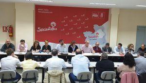 """El PSOE trabaja en las enmiendas con las que pretenden """"dar la vuelta"""" a los PGE """"más perjudiciales de la historia"""" para Cuenca"""
