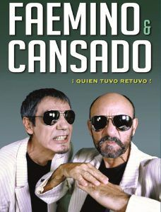 Faemino y Cansado, el viernes, 6 de abril, en el TABV