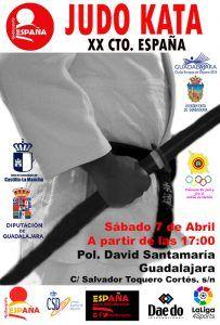 Guadalajara, sede del XX Campeonato de España de Kata