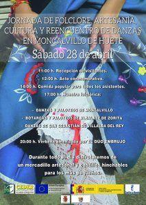 Jornada de Folklore, artesanía, cultura y reencuentro de danzas en Moncalvillo de Huete