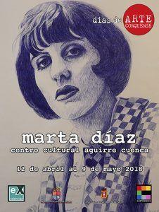 La artista Marta Díaz expone en el Centro Cultural Aguirre sus Tristezas