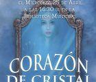 """La autora conquense Julia de la Fuente presenta en Huete su libro """"Corazón de Cristal"""""""