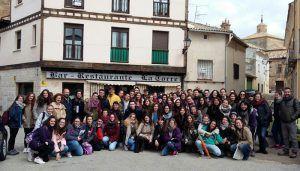 La Universidad de Alcalá de Henares visita el Centro de Emprendedores de Almonacid de Zorita