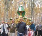 """La Virgen de la Granja hermana a Yunquera de Henares y Heras de Ayuso en la festividad de """"San Cleto"""" 2018"""