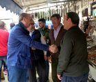 Latre asiste a la I Feria de la Caza organizada en Illana que ha congregado a un gran número de público