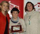 María José Díaz-Cano recibe el Premio a la Mujer Trabajadora de AMFAR La Solana