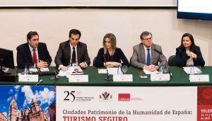 Mariscal destaca la seguridad de Ciudades Patrimonio de la Humanidad como un factor de atracción del turismo