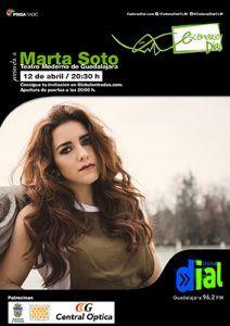 Marta Soto, el jueves, 12 de abril, de Youtube al Teatro Moderno