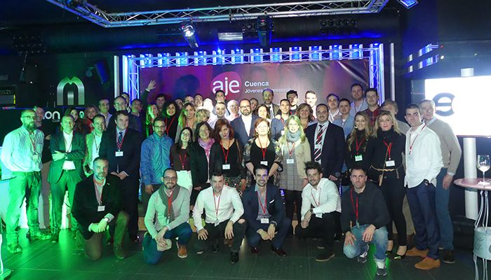 Medio centenar de empresas participan en el I Afterwork organizado por AJE Cuenca
