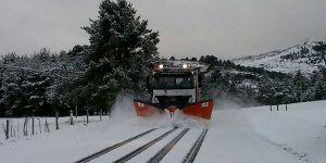 Orea pide la declaración de zona catastrófica tras el paso del temporal de nieve