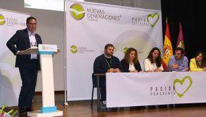 """Prieto anima a los jóvenes """"a apostar por Cuenca y desarrollar sus proyectos y futuro en nuestra provincia"""""""