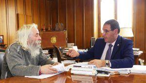 Prieto conoce de primera mano algunos de los proyectos del Ayuntamiento de Chumillas