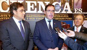 Prieto ve en el Congreso de UNAV una oportunidad para relanzar a Cuenca como destino turístico de primer orden