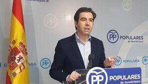 """Robisco """"Page no hace una sola obra en Guadalajara y viene a inaugurar las que hace y paga Rajoy"""""""